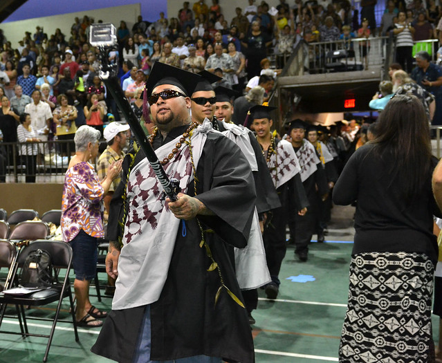 "<p>A Hawaii Community College student used a GoPro camera to capture the action during the commencement ceremony in Hilo on May 16, 2014. For more photos go to <a href=""https://www.flickr.com/photos/53092216@N07/sets/72157644742196091/"">www.flickr.com/photos/53092216@N07/sets/72157644742196091/</a></p>"