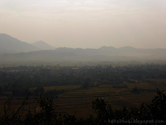 09 Pha Poak View of Vang Vieng Town
