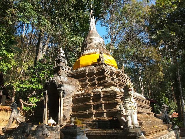 Wat Pha Lat in Chiang Mai, Thailand