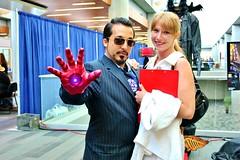 IRONMAN cosplay - tony & pepper