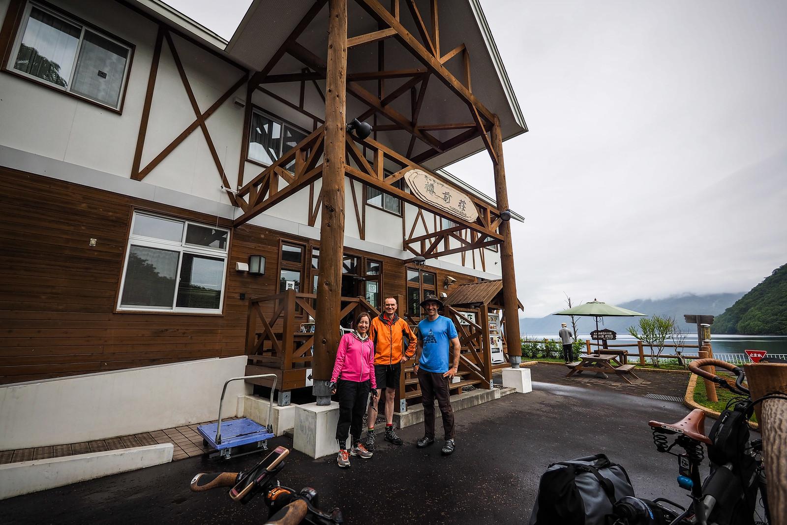 Tarumae-so Riders' House (Lake Shikotsu, Hokkaido, Japan)