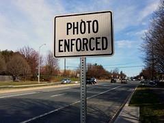 Speed camera on Olney Laytonsville Road, April 6, 2014