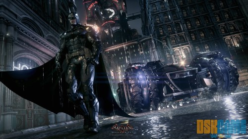 Batman Arkham Knight, el Batmóvil