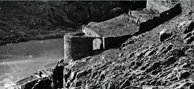Torre de Alfarach en 1857 fotografiada por Clifford, Soulier o Laurent