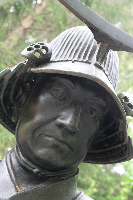 Masamune Date bust statue 02
