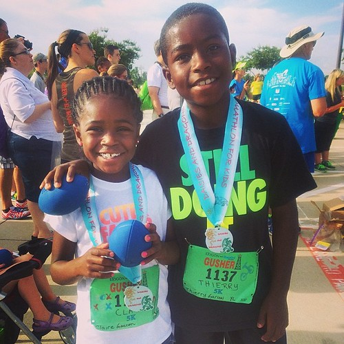 My little duathletes. Little beasts in training. The event was so great!  #duathlon #duit #fitness #fitfluential #fitness