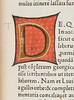 Erroneous illuminated initial in Servius Maurus, Honoratus: Commentarii in Vergilii opera