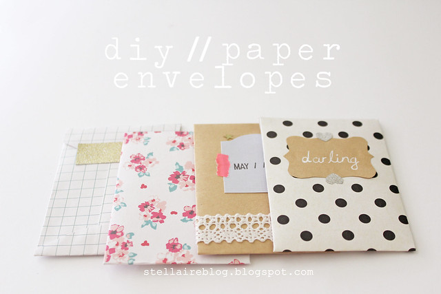 diy paper envelopes