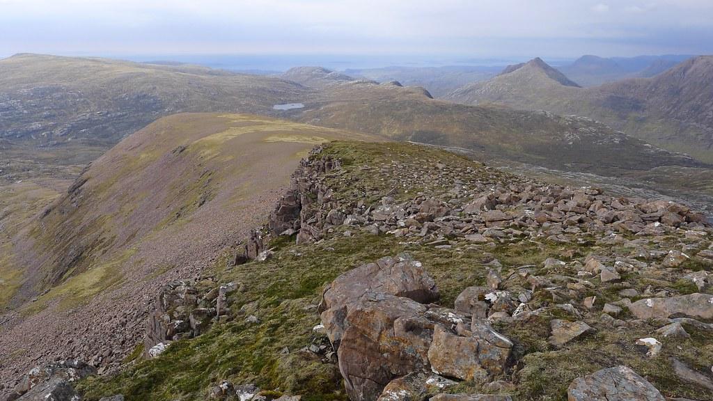 Western ridge of Ruadh Stac Mor