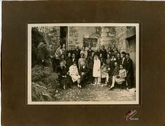 Mariage Charles Valette et Fernande Auric