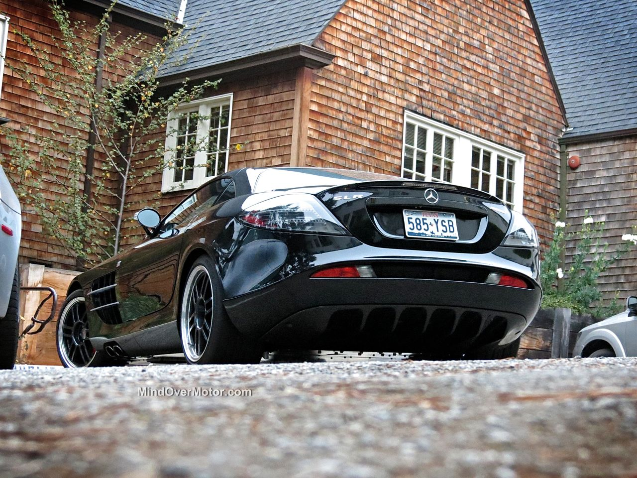 Mercedes SLR 722 Rear