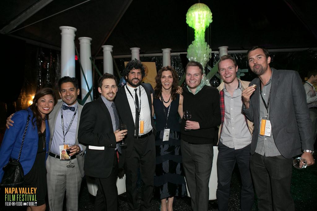 Taylor Ray & filmmakers at Gala - Gustavo