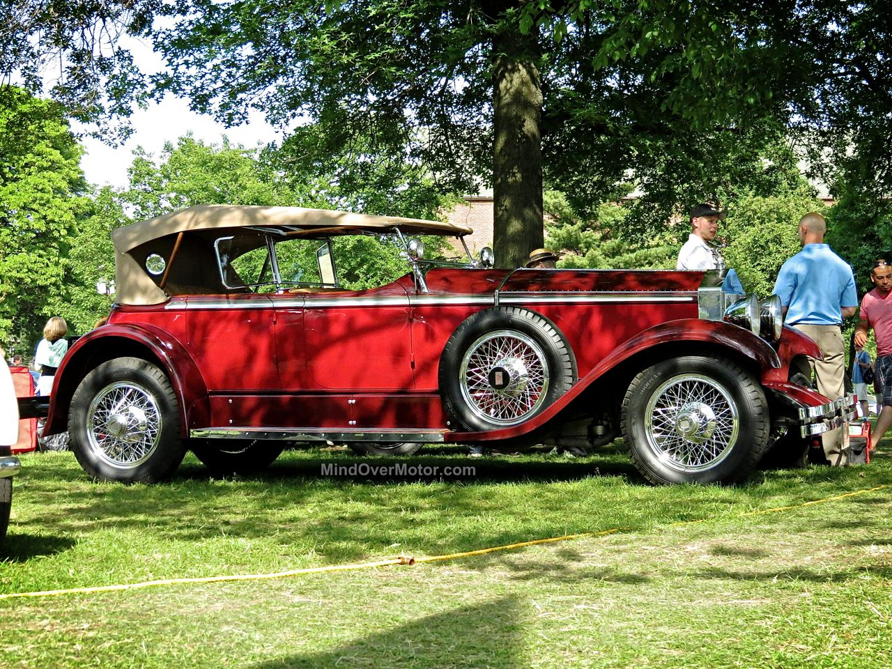 Pre-War Cars At The Greenwich Concours D'Elegance