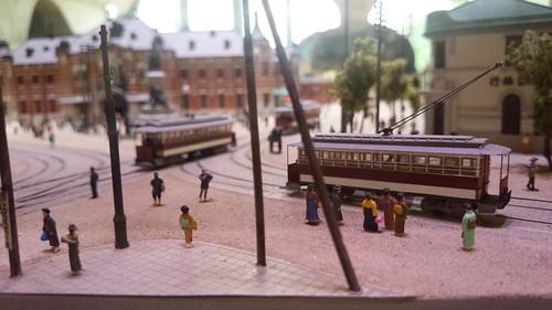 万世橋駅のジオラマ