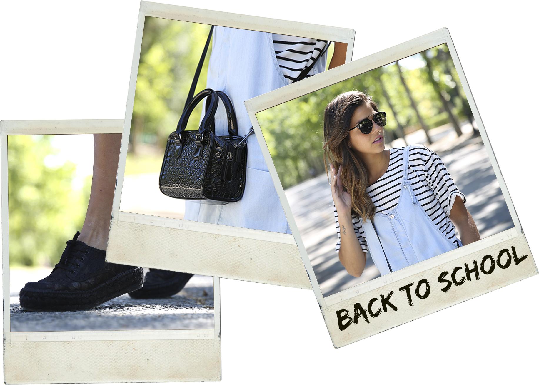 trendy_taste-look-outfit-street_style-ootd-blog-blogger-fashion_spain-vaquero_claro-peto_vaquero-tirantes-striped_tee-camiseta_rayas-marinero-dior_sunnies-gaimo-polaroid