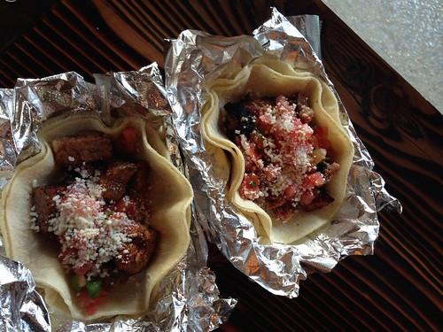 Brisket & Pork Tacos