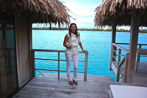St. Regis Bora Bora overwater bungalow