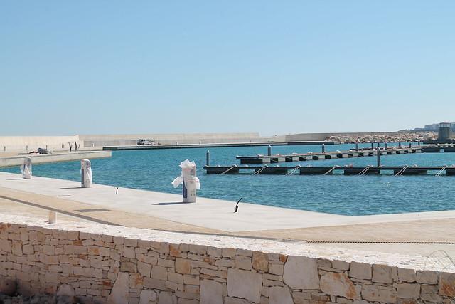 porto turistico polignano attracco punti installati e poco distanti la residenza 'danneggiata'