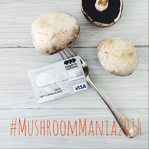 Mushroom Mania has started & there's a $100 gift card up for grabs each day of July!   Simply snap a pic of a cafe or restaurant mushroom meal, tag #mushroommania2014 along w the #restaurantname and your #state and follow @powerofmushrooms for a chance to