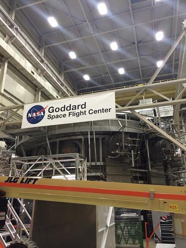 """NASA Goddard's """"Space Environment Simulator"""""""