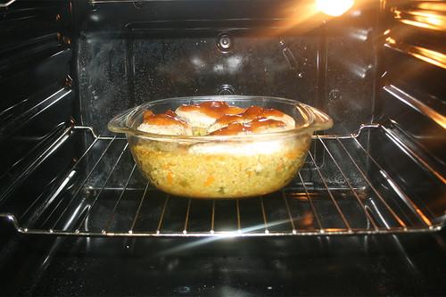 41 - Offen im Ofen weiter backen / Continue baking open