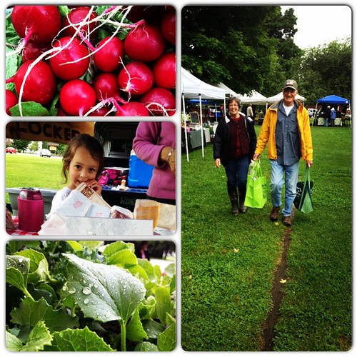 Loud low farmers' market fun! #instacollage