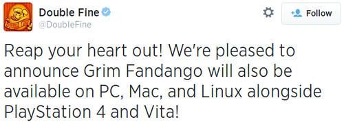 Grim Fandango remake Linuxra