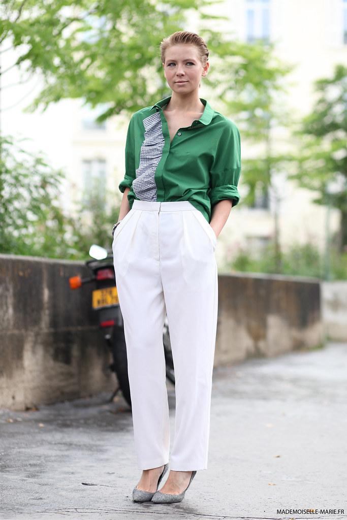 Vika Gazinskaya at Paris fashion week Haute Couture