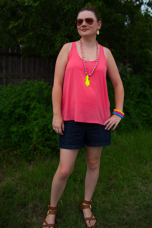DIY Tassel Necklace #PaintYour Way