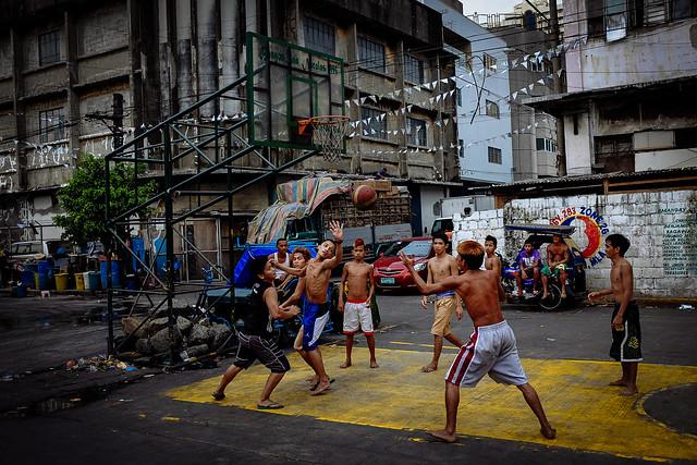 manila street basketball