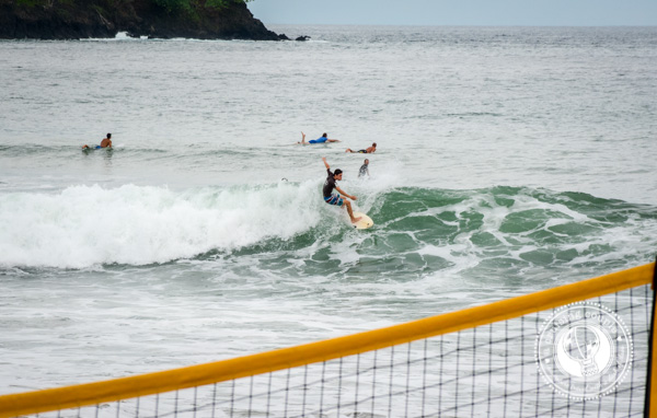 Surfing at Playa Vanao Panama