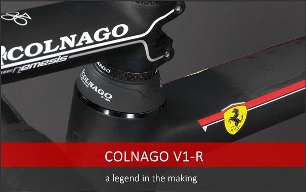New Colnago V1-r Super Bike