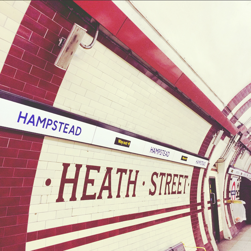 hampstead station tiles