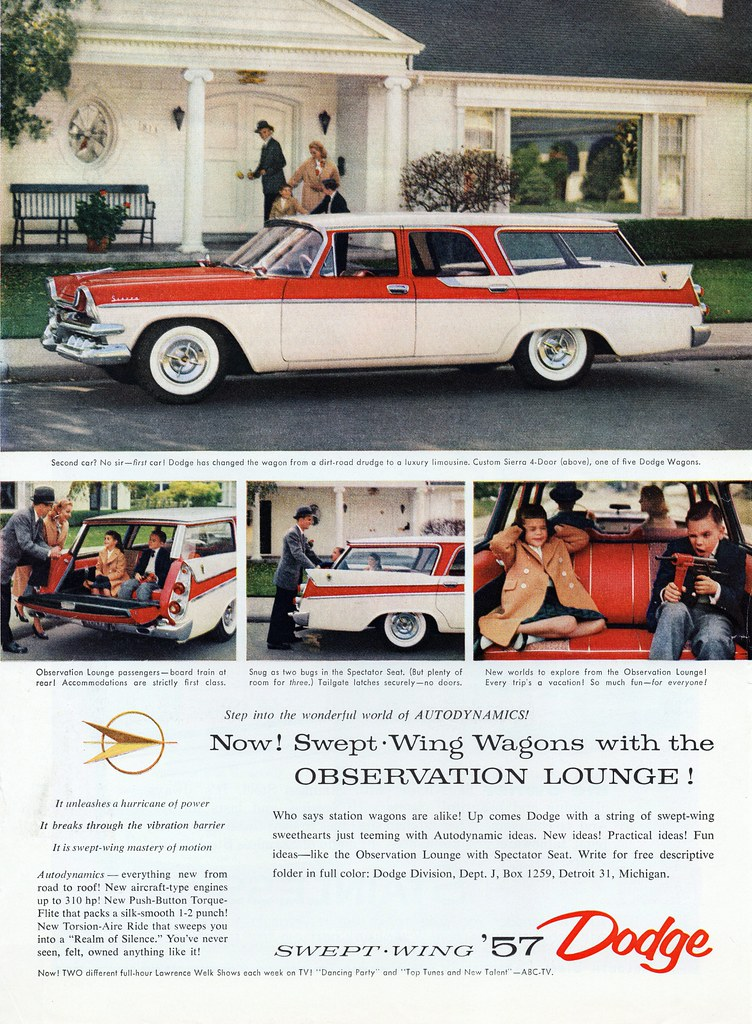 1957 Dodge Custom Sierra 4-Door Station Wagon