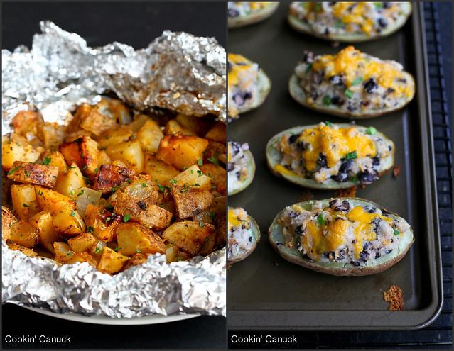 Easy Potato Recipes | cookincanuck.com #vegetarian