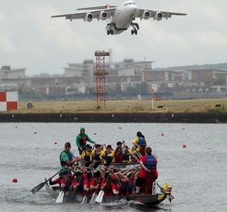 Dragons and Jets @ Royal Albert Dock 29-06-14