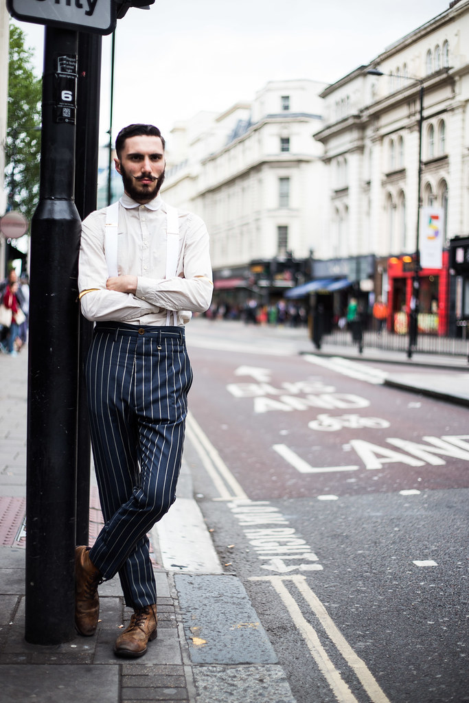 Street Style - Sam, London Collections: Men