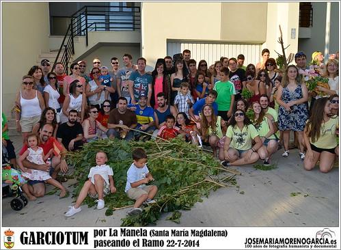 Garciotum por la Malena 22-7-2014