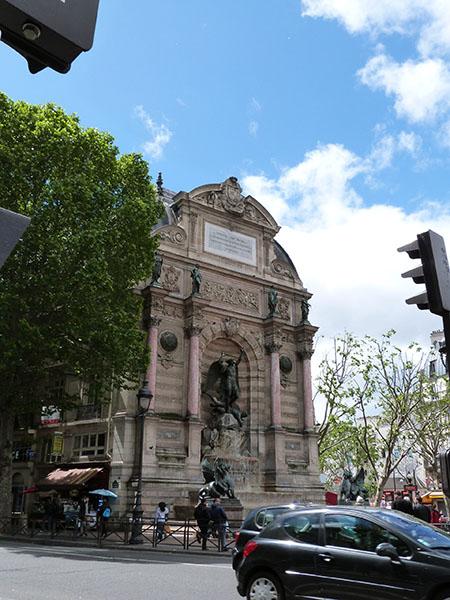 fontaine SAint-Michel