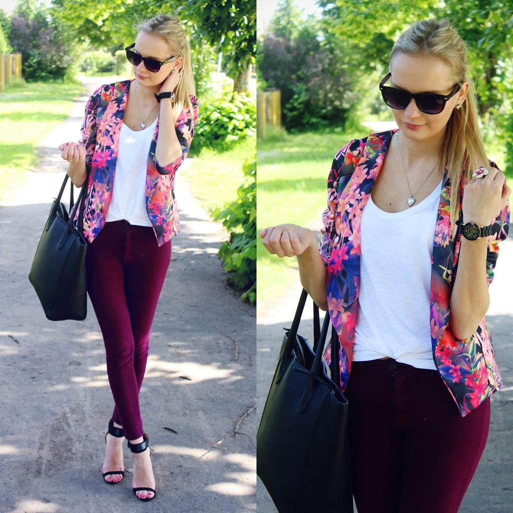 pink-tropical-print-blazer