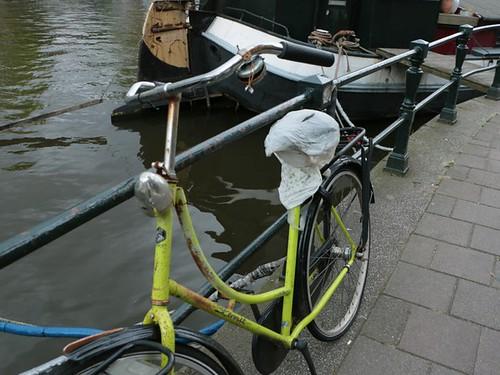 Amsterdam: bici senza freni