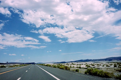 On the road in Nevada