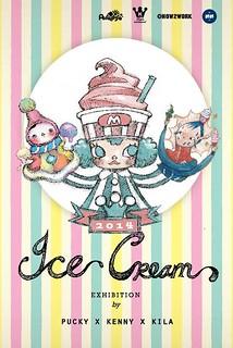 "Pucky × Kenny × Kila - ""Ice Cream"" 三色雪糕 三人聯展 即將登場"