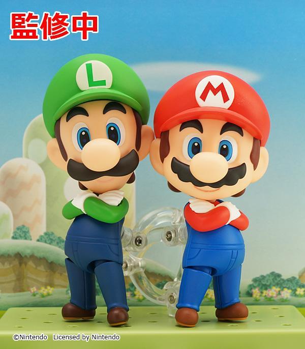 Nendoroid Luigi & Mario