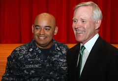 SECNAV visits Yokosuka Sailors and Marines