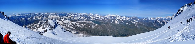 Grand Paradiso Summit View
