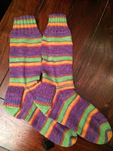 Vanilla opal socks