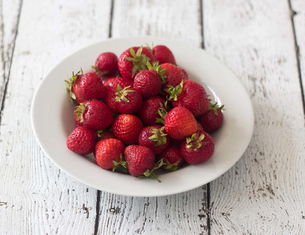 Jordbærsorbet