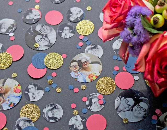 DIY Photo Confetti