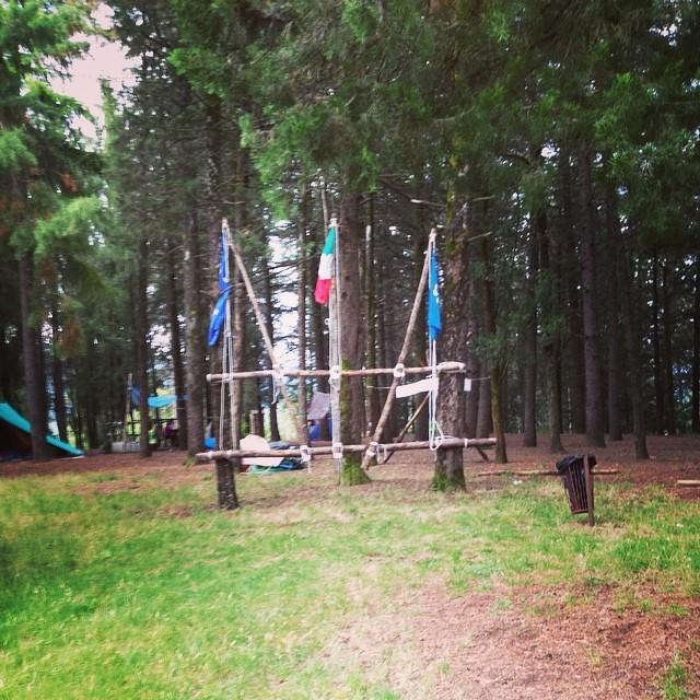 Le tende schierate #agesci #fo10 #forli10 #camposcouts #scouts